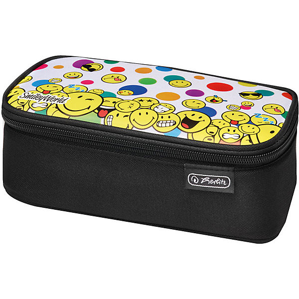 Beatbox Schlamper Faces kombi Schwarz Smileyworld Rainbow Herlitz box mOvNn0wy8