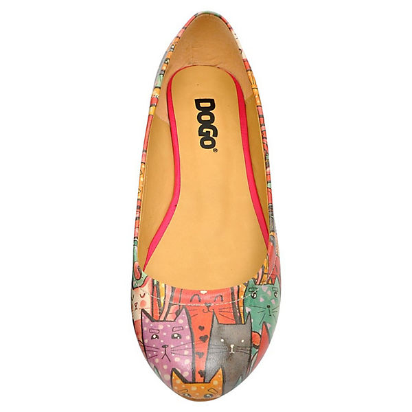 Ballerinas Klassische Dogo So mehrfarbig Cat Shoes qwvIUf