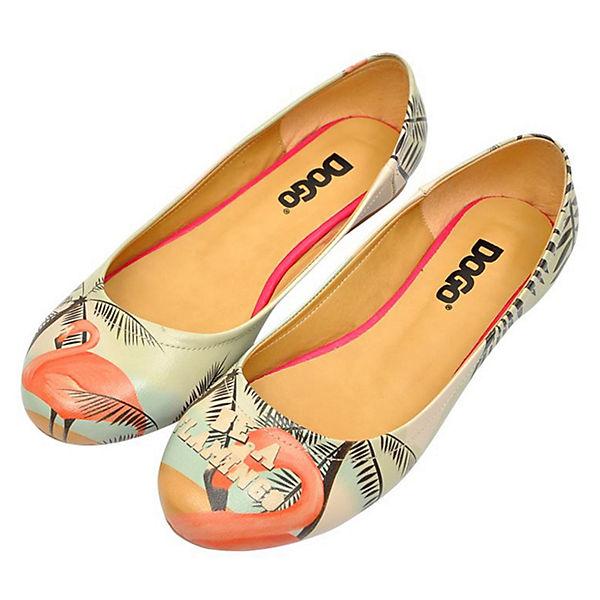 Flamingo a Ballerinas mehrfarbig Dogo Be Shoes Klassische gUqw0SAx