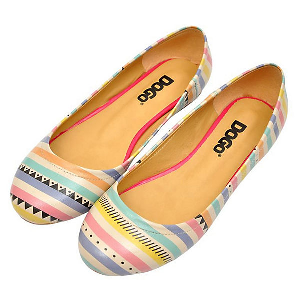 Dogo Shoes, Soft Summer  Klassische Ballerinas, mehrfarbig   Summer 8a3afc
