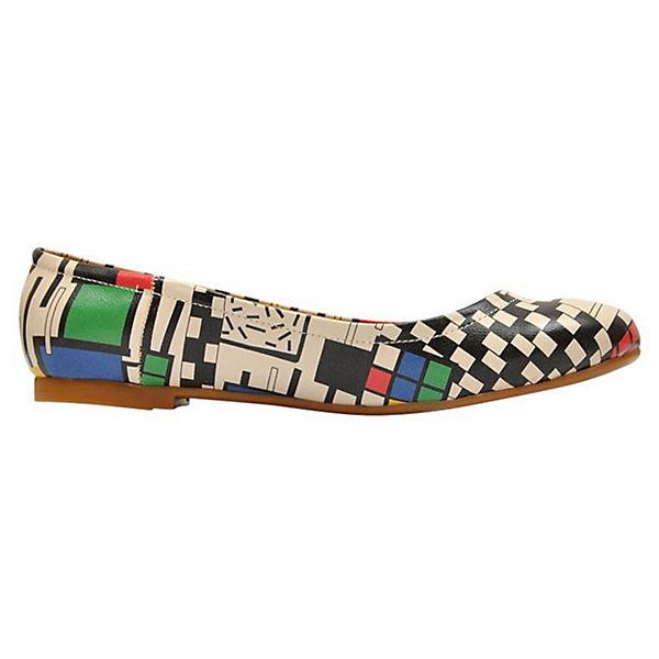 Dogo Shoes, Square King Klassische Ballerinas, beliebte mehrfarbig  Gute Qualität beliebte Ballerinas, Schuhe 29e7b1