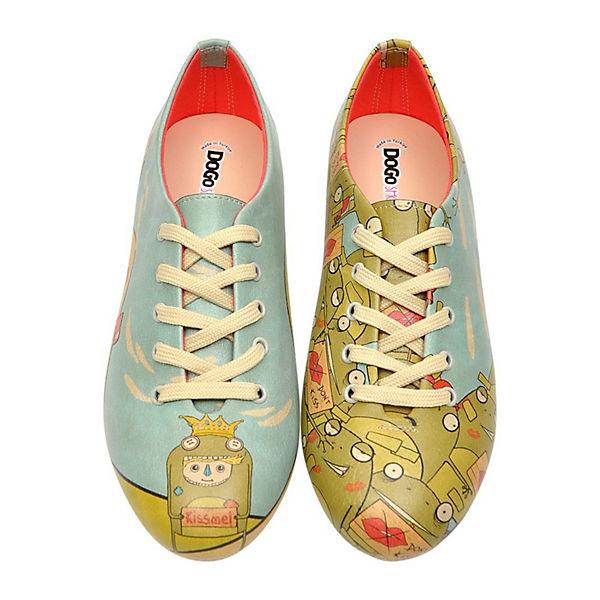 Me mehrfarbig Oxford Shoes Kiss Dogo Schnürschuhe qpFtn
