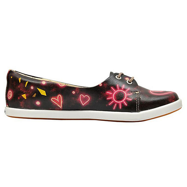 Dogo Shoes Low Pluto Neon Hearts Sneakers Low Shoes mehrfarbig  Gute Qualität beliebte Schuhe b4d7ad