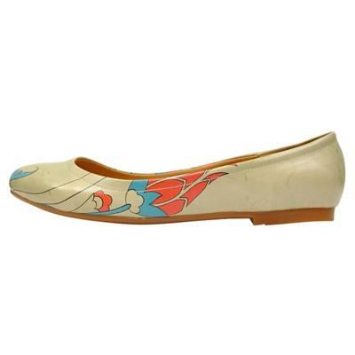 Dogo Shoes, Heartily Klassische Ballerinas, beige