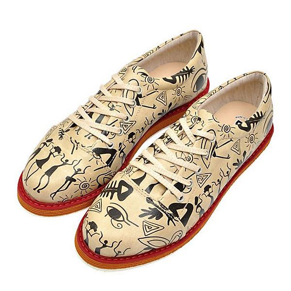 Dogo Shoes,  Broke's Dancers Schnürschuhe, mehrfarbig  Shoes, Gute Qualität beliebte Schuhe 75cc01