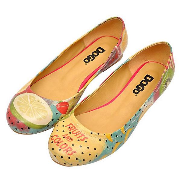Dogo Schuhes, Fruits Club Klassische Ballerinas, mehrfarbig  Gute Qualität beliebte Schuhe
