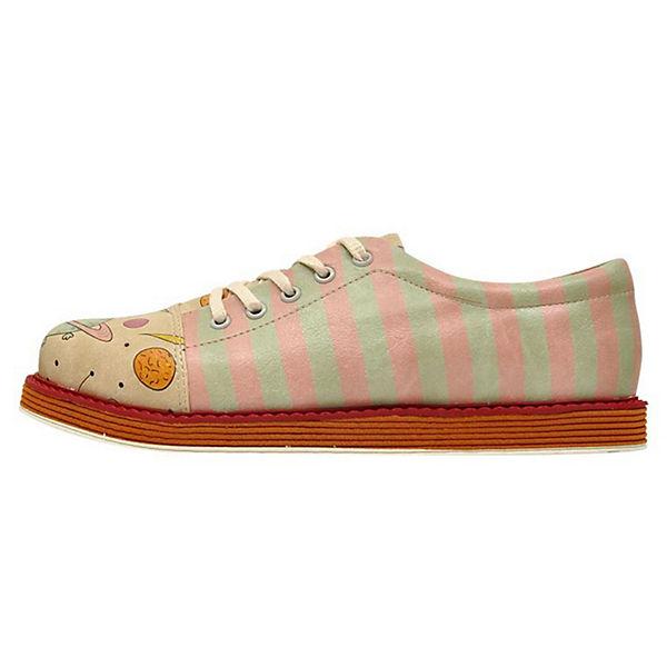 Planets Shoes mehrfarbig Animal Broke's Schnürschuhe Dogo 8Bwx1z1
