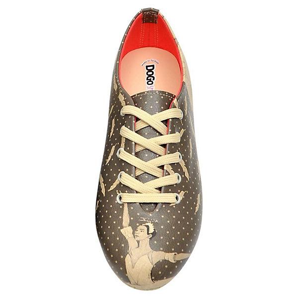 mehrfarbig Swan Oxford Dogo Shoes Schnürschuhe w0ORRX