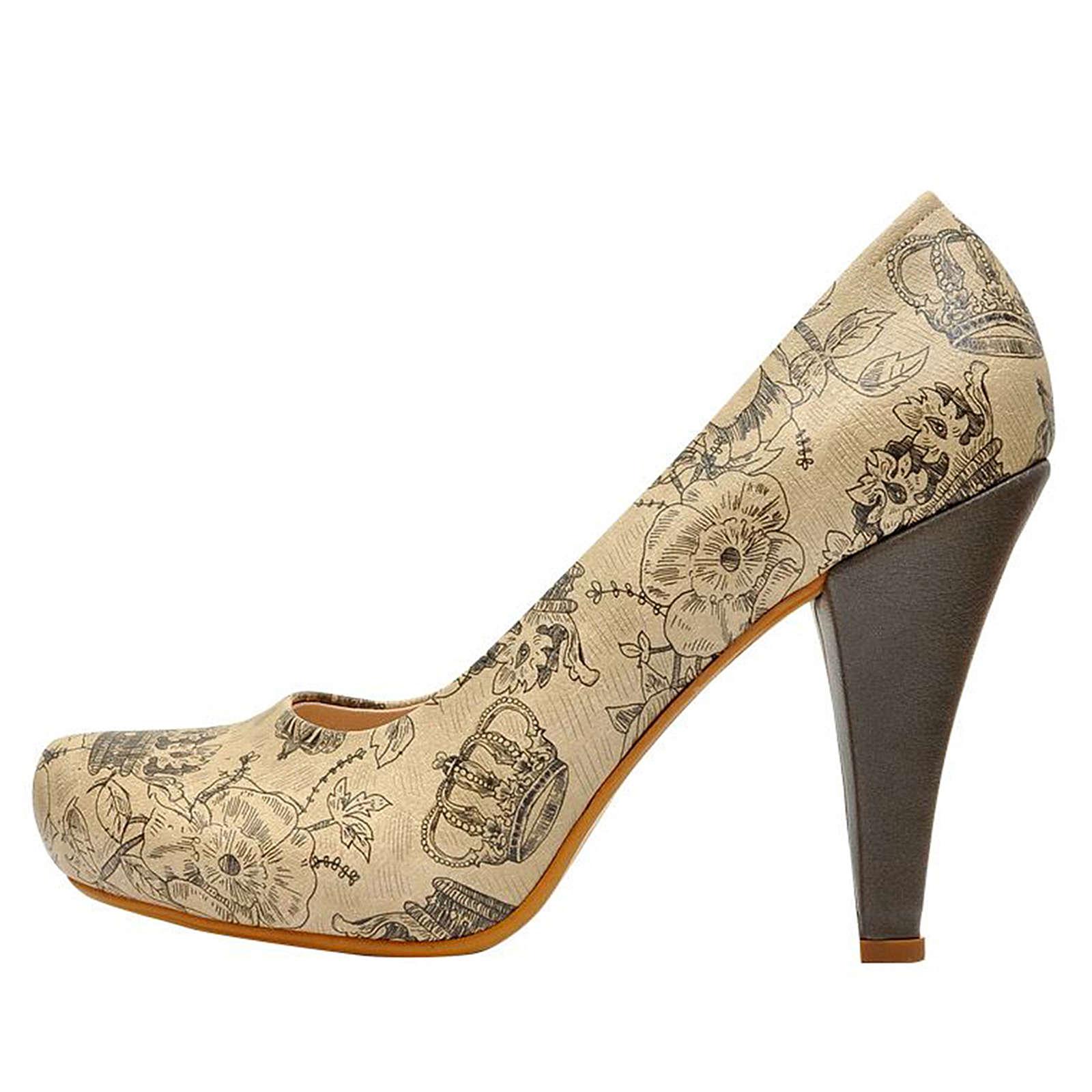 Dogo Shoes Royal Klassische Pumps mehrfarbig Damen Gr. 36
