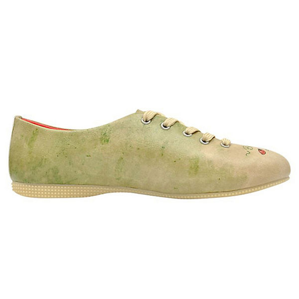 Dogo mehrfarbig Shoes, Oxford Luck Schnürschuhe, mehrfarbig Dogo   1aa5f2