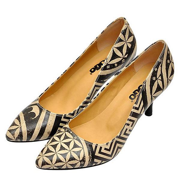 Mosaics mehrfarbig Shoes Klassische Dogo Pumps 5THP6B1