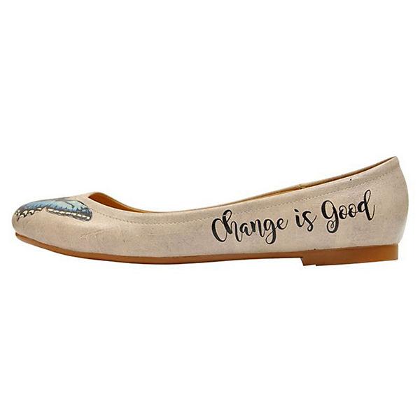 is Change Ballerinas Shoes Dogo mehrfarbig Klassische Good Eqnxwvpa5C