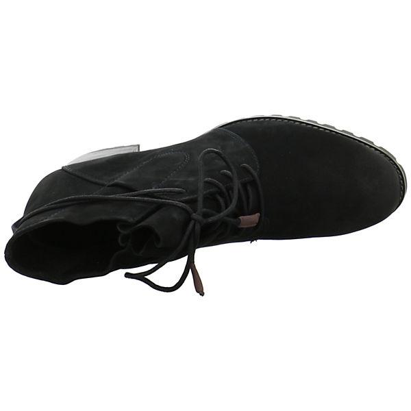 Tamaris, Schnürstiefeletten, schwarz     6b8a5d