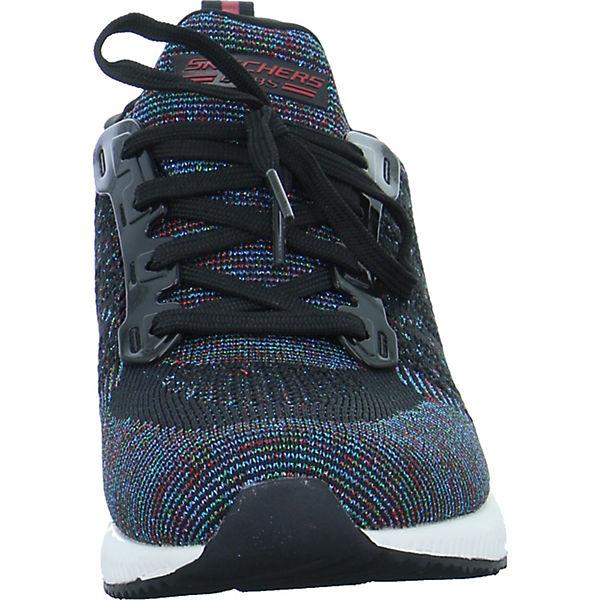 SKECHERS, BOBS SQUAD POP COLOR Sneakers Low, schwarz Schuhe  Gute Qualität beliebte Schuhe schwarz 1c7e8c