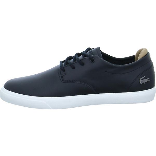 schwarz Sneakers 1 Espere 117 Low LACOSTE zpT0g0