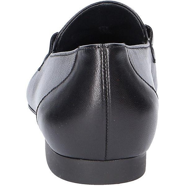 Paul Green, Klassische Slipper,  schwarz  Slipper,  335f30