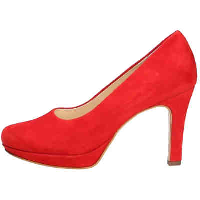 new arrival 049a6 0936f Paul Green, Paul Green Fashion Pumps Plateau-Pumps, rot