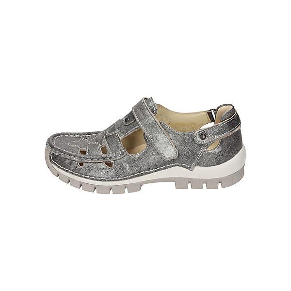 Wolky, Offene Halbschuhe, grau  Gute Qualität beliebte Schuhe