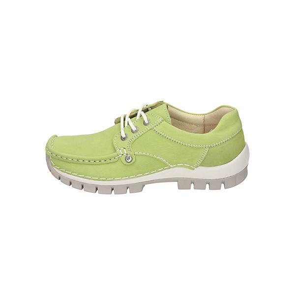Wolky, Schnürschuhe, grün  Gute Qualität beliebte Schuhe