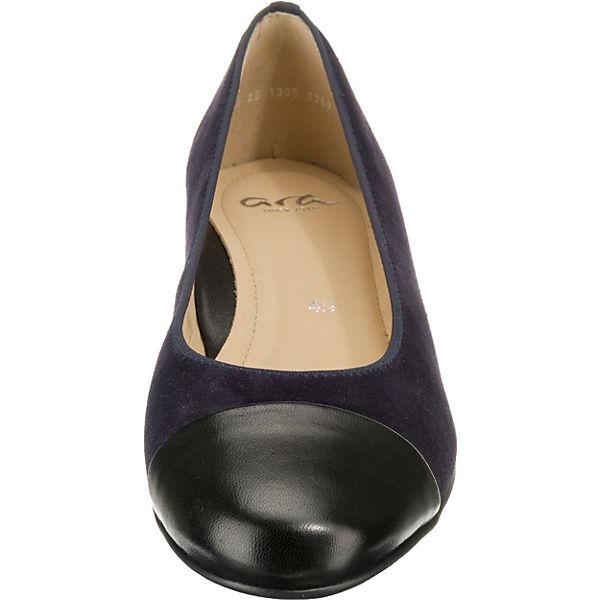 ara, SARDINIA Komfort-Ballerinas, schwarz    Gute Qualität beliebte Schuhe de8004