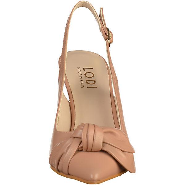 Lodi, Sling-Pumps, beige  Gute Schuhe Qualität beliebte Schuhe Gute 3293d0
