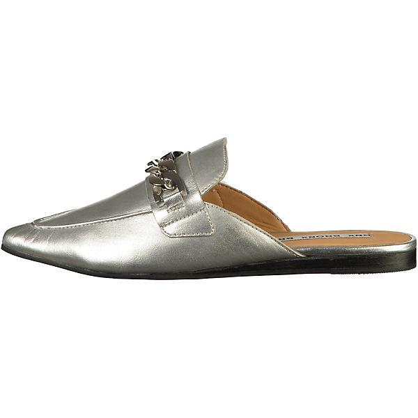 BRONX, Pantoletten, silber  Gute Qualität beliebte Schuhe