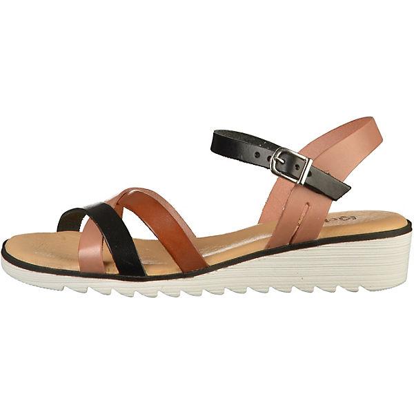 KicKers, Klassische Sandaletten, schwarz