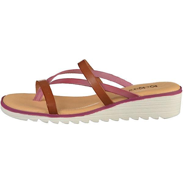 KicKers, Pantoletten, braun  Gute Qualität beliebte Schuhe