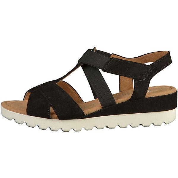 Gabor T-Steg-Sandalen schwarz  Gute Qualität beliebte Schuhe