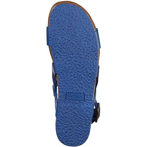 KicKers, Klassische Sandalen, blau beliebte  Gute Qualität beliebte blau Schuhe 4d2f01