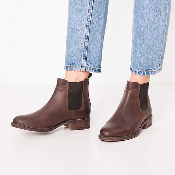 JOLANA & FENENA, Chelsea Boots, dunkelbraun  Gute Qualität beliebte Schuhe