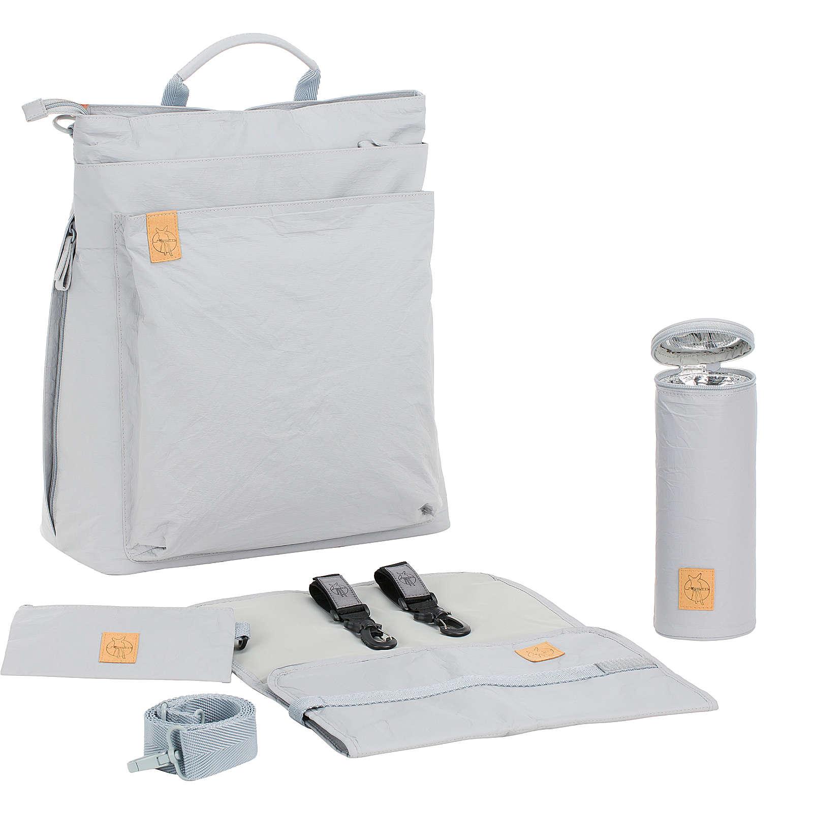 Lässig Wickelrucksack Tyve, Backpack, Greenlabel, grey grau