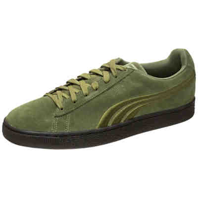 Suede Classic Badge Flip EM Sneakers Low