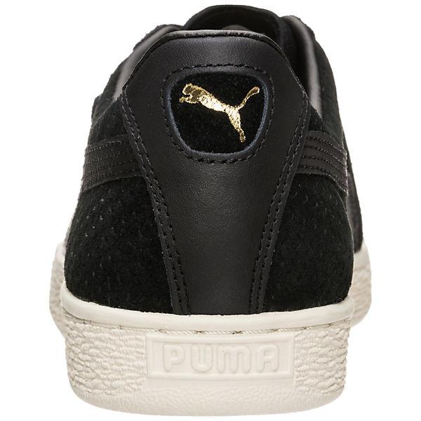 PUMA, Classic Perforation Sneakers Low, schwarz  Gute Qualität beliebte Schuhe