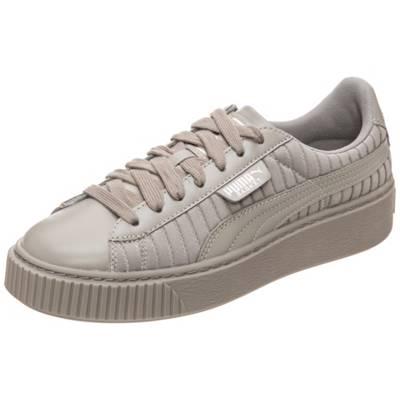 PUMA, Sneakers Platform Glam für Mädchen, grau