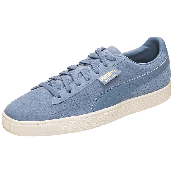 Suede Classic Perforation Sneakers Low