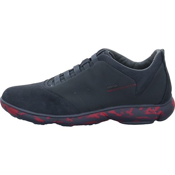 Low Sneakers Nebula B U dunkelgrau GEOX wv0ISqnw