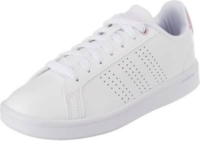 adidas Sport Inspired, Cf AdvantageCl Sneakers Low, weiß