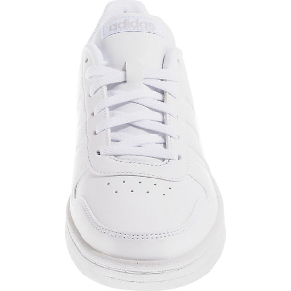 2 Hoops adidas 0 weiß Sneakers Sport Inspired Low qZZft