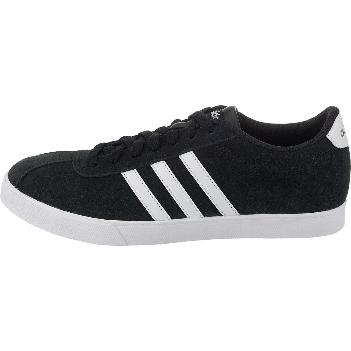 Adidas Sport Inspired, Courtset Sneakers Low, Schwarz