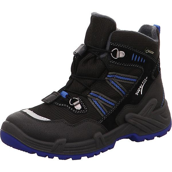 sports shoes 18f6d b7edd superfit, Winterschuhe CANYON für Jungen, Weite W5, GORE-TEX, gefüttert,  für breite Füße, schwarz