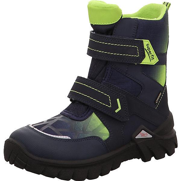 abwechslungsreiche neueste Designs wie kommt man Auschecken superfit, Winterstiefel POLLUX für Jungen, Weite M4, GORE-TEX, gefüttert,  blau/grün