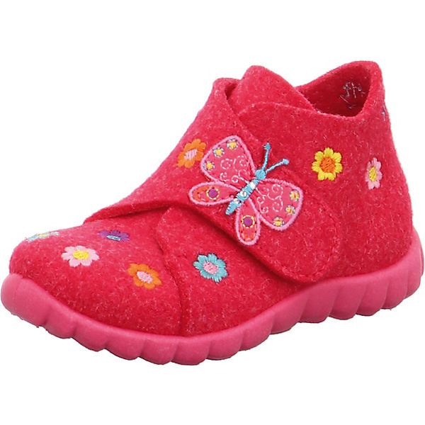 Gutes Angebot superfit Hausschuhe HAPPY für Mädchen pink
