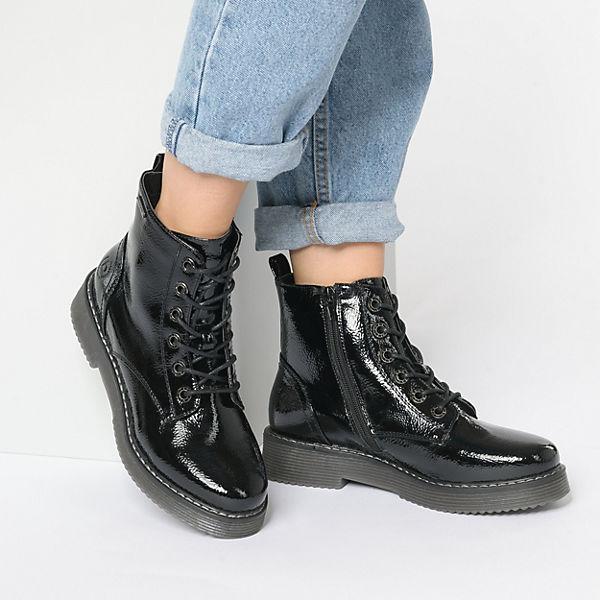 bugatti Schnürstiefeletten schwarz  Gute Qualität beliebte Schuhe