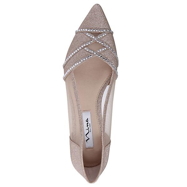 Nina, KIYRAH Klassische Ballerinas, beliebte rosa  Gute Qualität beliebte Ballerinas, Schuhe e22a3e