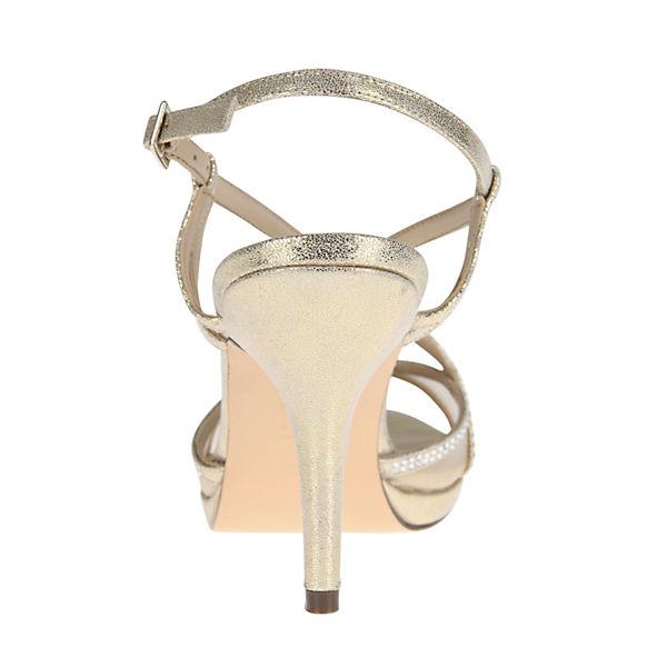 Nina, BLOSSOM RiemchenSandaleetten, gold  Gute Gute  Qualität beliebte Schuhe fbcfd1