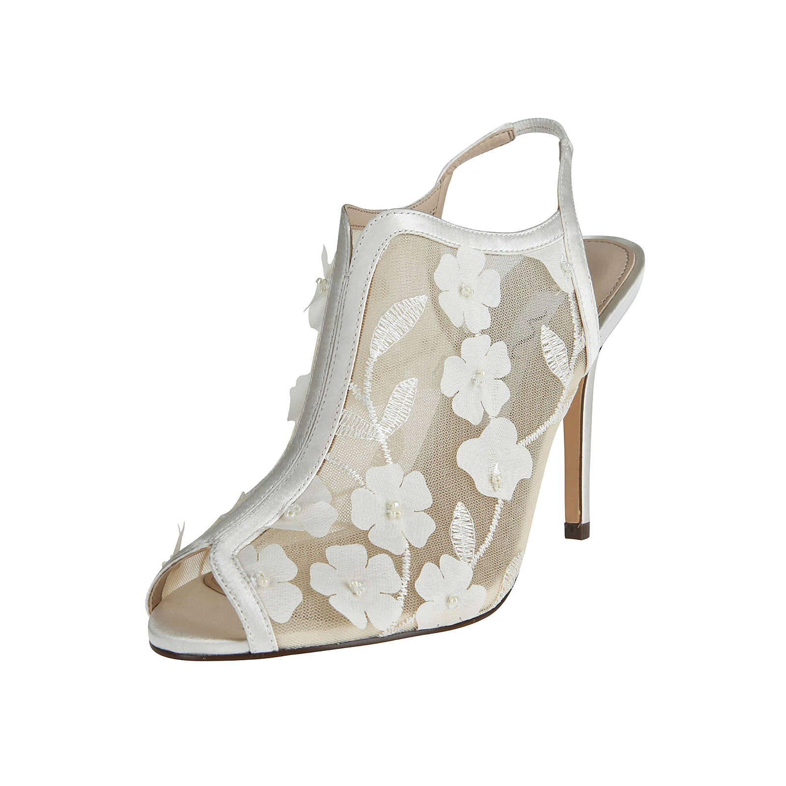 Nina Shoes High-Heel MEGGIN Klassische Pumps creme Damen Gr. 36