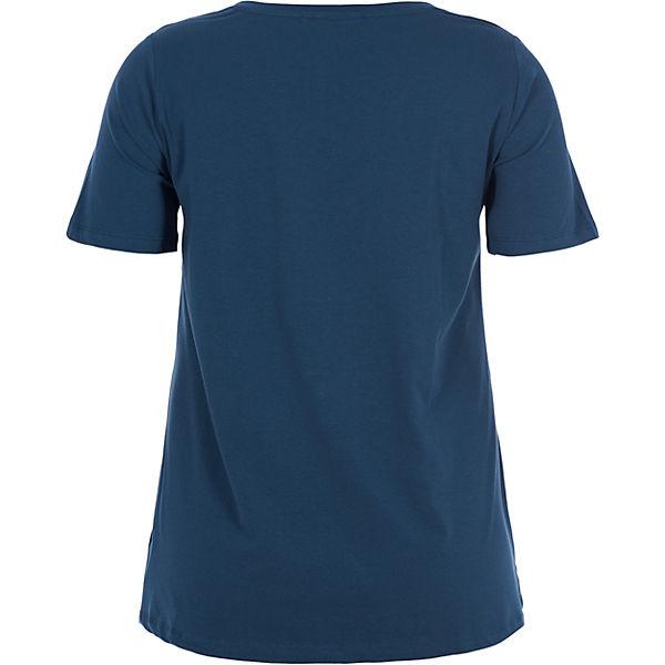 Zizzi blau Shirt T T Zizzi XYxwFC