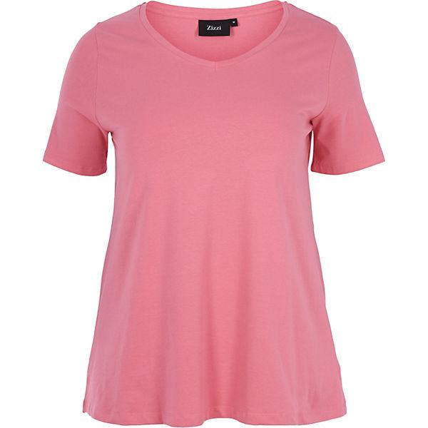 Zizzi T Zizzi T Shirt Shirt rosa rosa Zizzi f6wI7wq1