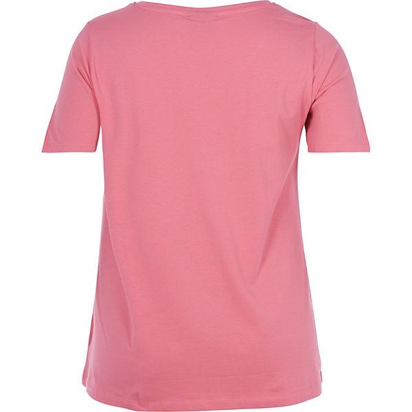 T Shirt Zizzi T Shirt Zizzi T rosa rosa Zizzi 4YwaHPxqnU